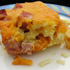 Victorian House Breakfast Hash Browns Casserole