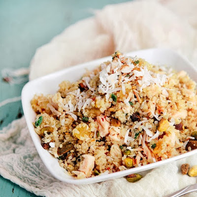 Pineapple Chicken Quinoa Salad