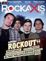 Screenshot of Revista Rockaxis Chile
