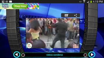 Screenshot of Videos Sonideros
