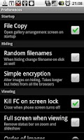 Screenshot of Gallery Security Lock FREE