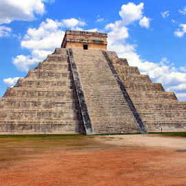 Chichén Itzá by Bruno Perez - Buildings & Architecture Statues & Monuments ( mexico, chichen itza, civilization, wonder, monument, historical, maya,  )