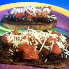 Open-Face Portabella Sandwiches