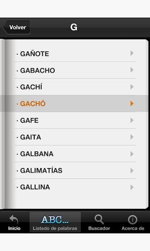 【免費生活App】Diccionario del Español Coloqu-APP點子