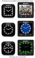 Screenshot of Custom Watch for SmartWatch