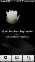 Screenshot of Mood Tracker - Depression