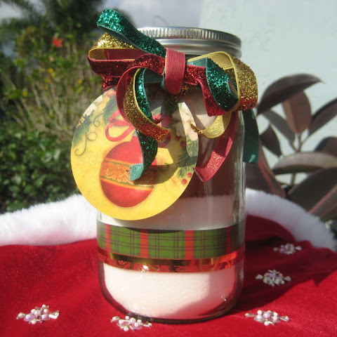 Homemade Brownie Mix in a Jar - Gift Recipe