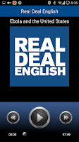 Screenshot of Real Deal English