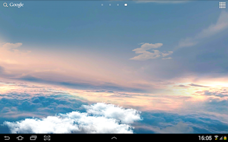 Screenshot of Flight in the sky 3D FREE LWP