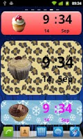 Screenshot of Cupcake Clock