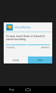 Voice Notes Screenshot