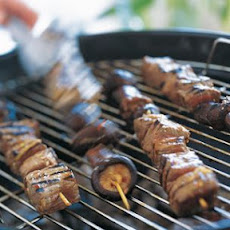 Korean Beef and Shiitake Skewers
