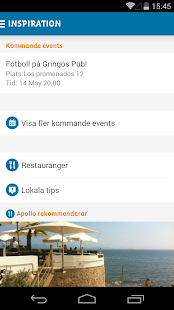 Apollo Sverige - screenshot
