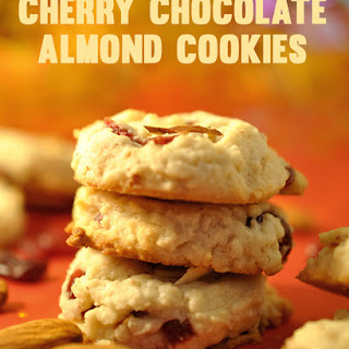 Dried Cherry And Almond Cookies Recipes
