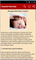 Screenshot of Nama Bayi dan Artinya