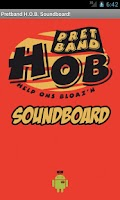 Screenshot of Pretband H.O.B. Soundboard!