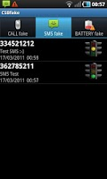 Screenshot of CSB Fake Call/SMS/Battery FULL