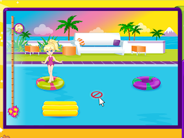 Screenshot of Baby Ela Beach Party