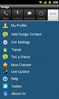 Screenshot of Voxigo-Cheap Mobile VOIP Calls