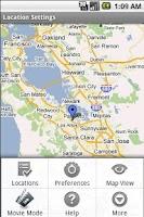 Screenshot of Location Settings-Full