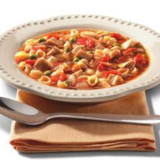 Minestrone with Roast Chicken