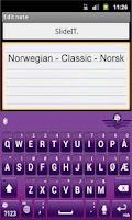 Screenshot of SlideIT Norwegian Classic Pack