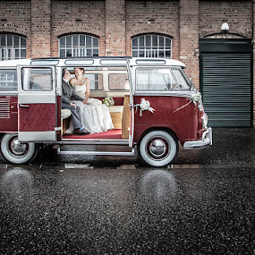 Never Mind The Weather by Paul Eyre - Wedding Bride & Groom