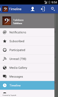 Screenshot of TalkBass.com