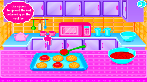 Sweet Cookies - Game for Girls - screenshot