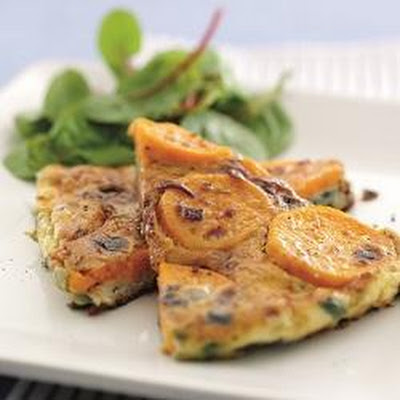 Sweet potato Spanish tortilla