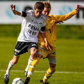 Fotball Samba by Ruud van der Weel - Sports & Fitness Soccer/Association football ( juniors, rbk, rosenborg, duell, soccer )
