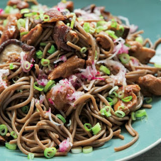 Soba Noodles With Shiitake Mushrooms And Radish