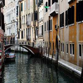 canal in venice by Almas Bavcic - City,  Street & Park  Historic Districts