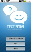 Screenshot of Text2Me - Free SMS