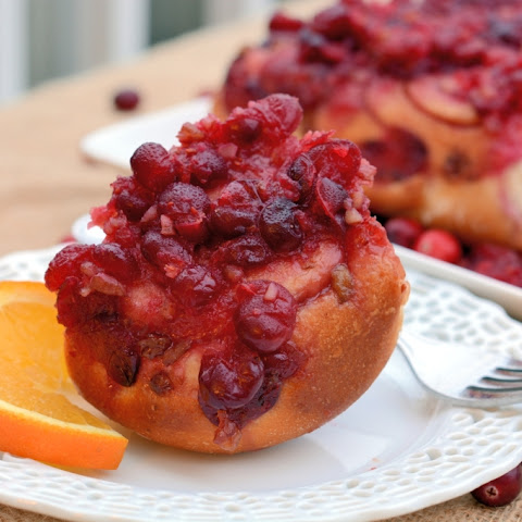 Cranberry-Orange Sticky Buns