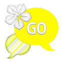 GO SMS - Lemon Yellow Flower icon