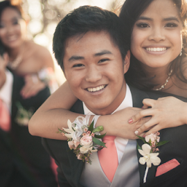 Colgate smiles by Timothy Horng - People Couples ( gilbert, az, school, indian, couple, hamilton, prom, high, phoenix, asian )
