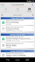 Screenshot of Countdown Plus Widgets Lite