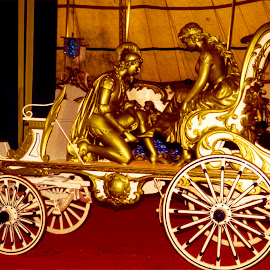 Queens Golden Carriage by Walter Carlson - Transportation Other ( old, carriage, royal, transportation, golden )
