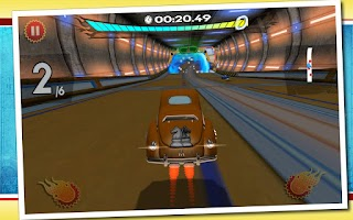 Screenshot of Retro Future Racing