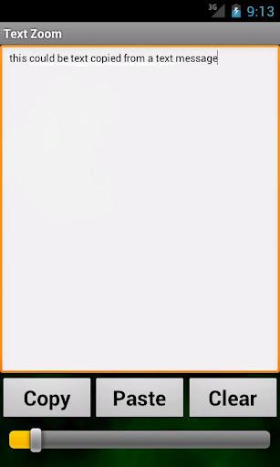 Text Zoom