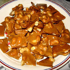 Cashew Brittle Candy