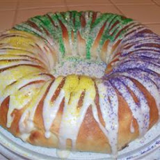 King Cake in a Bread Machine