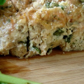 Chicken Basil Meatloaf