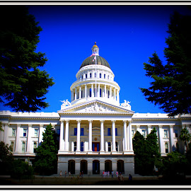 California State Capitol Building by Lasanthica Fernando Benedict - Buildings & Architecture Public & Historical ( love, cool, architechture, awesome, majestic, beautiful, fun )