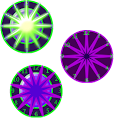Crazy Clock PinWheel icon