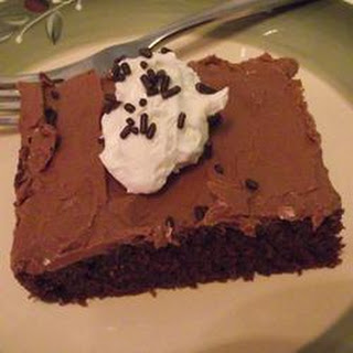 Chocolate Texas Sheet Cake