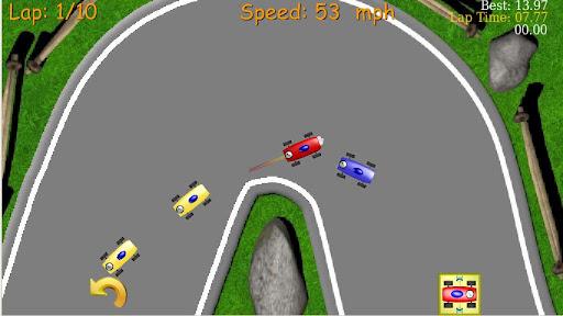 2D Tiny Car Racing Lite