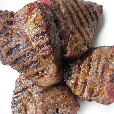 Lamb Chops Rubbed with Ras El Hanout