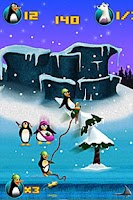 Screenshot of Crazy Penguin Assault Free